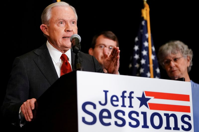 Behind Trump and Sessions Twitter row, a key Senate seat